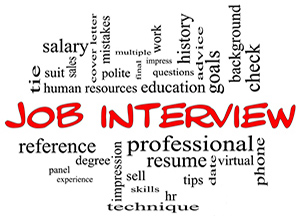 interviewing resumes in career and job opportunities